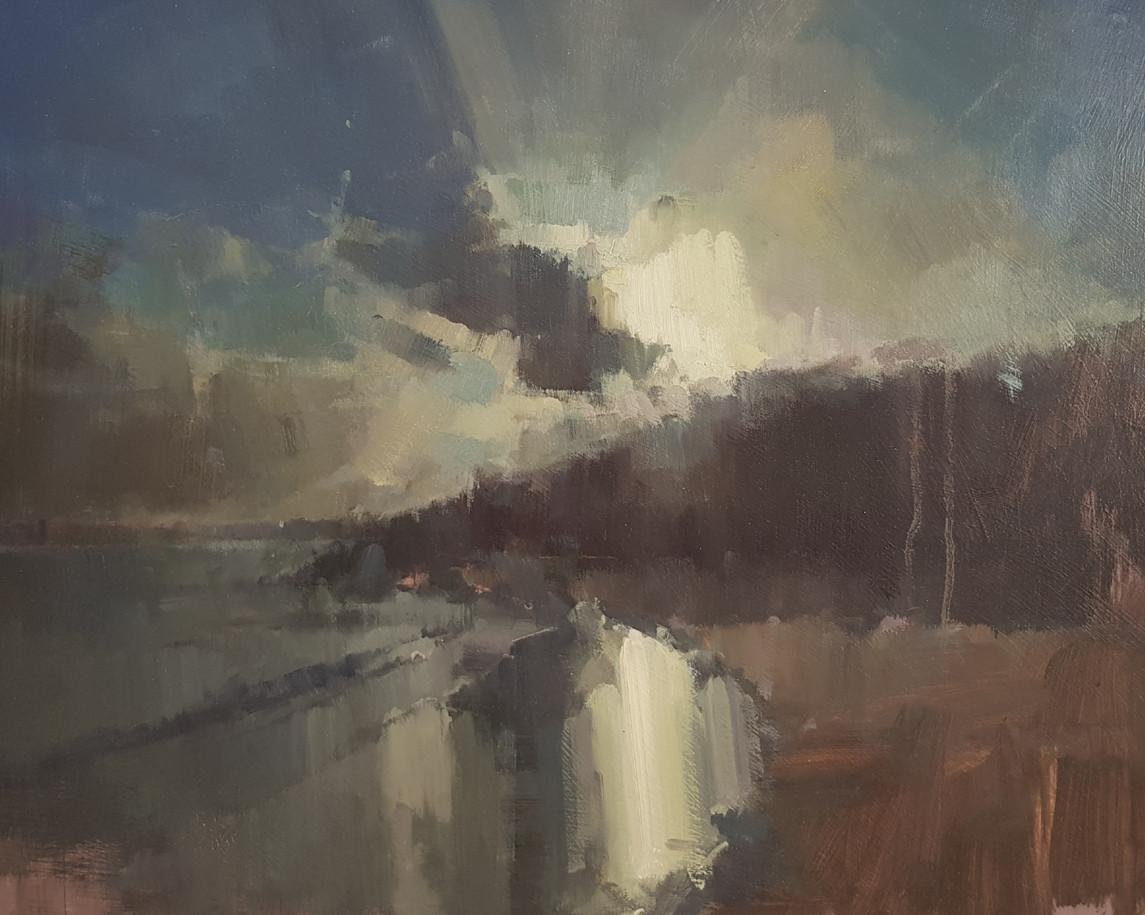 'Morning Sunlight Spills on to Porthminster Beach - St Ives, Cornwall'