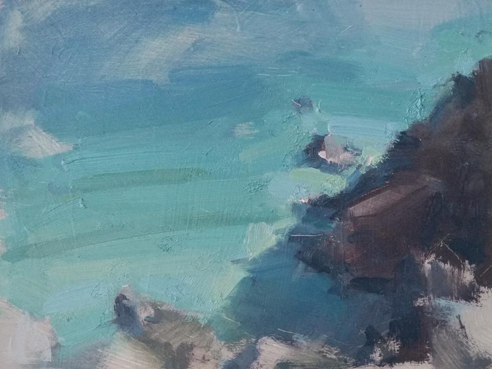 'Porthcurno, West Cornwall - Study 2'