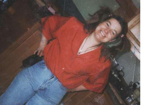 Ma mère, environ un an avant son décès.