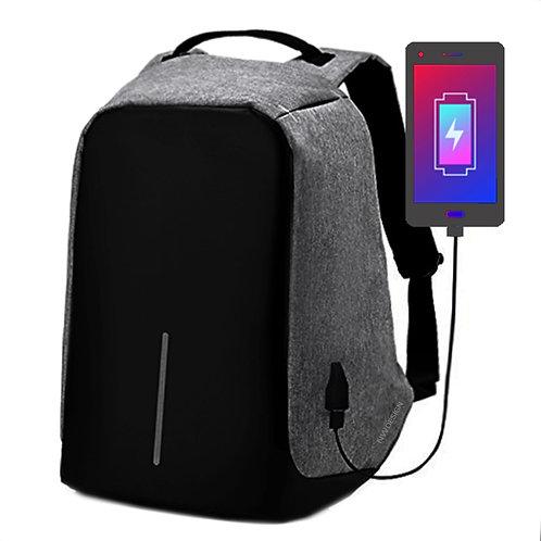 GREY NW Backpack - Mochila Antirrobo gris