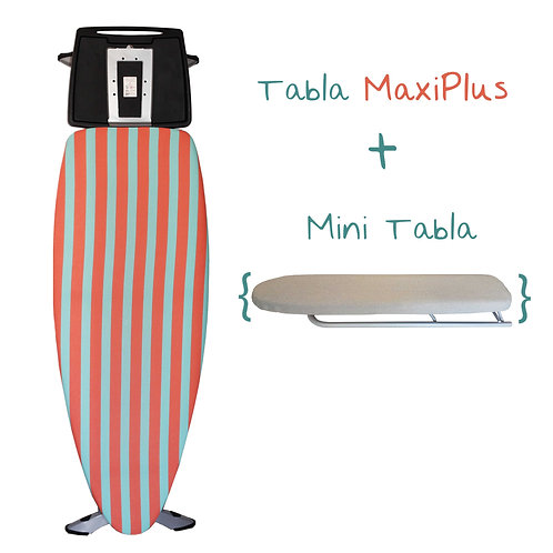 Mini Tabla + Tabla de Planchar Maxi Plus Pro