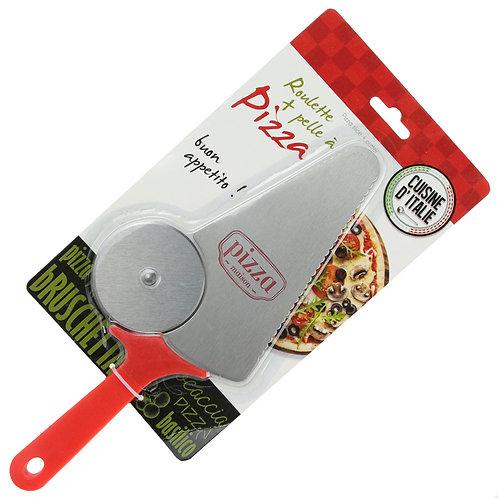 Cortador & Pala Pizza