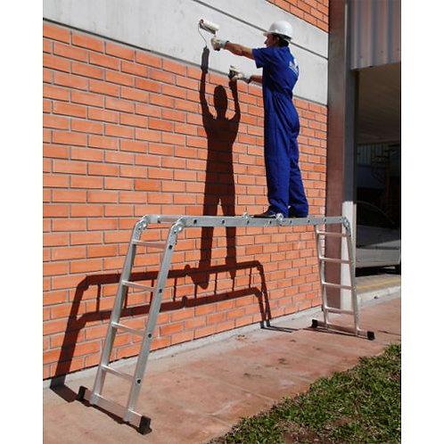 Plataforma de aluminio para Escalera Multiusos 4x4 -16 Peldaños