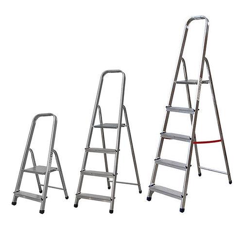 Escalera Aluminio Ligera Plegable