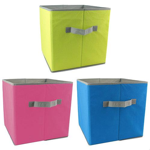 Kit 3 Cajas Almacenamiento en colores