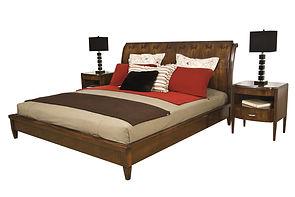 Cama madera muebles iannini