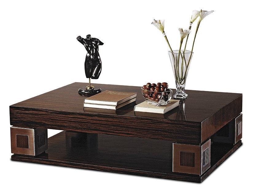 Mesas de centro y mesas auxiliares en madera personalizadas fabricadas artesanalmente en Bogotá.