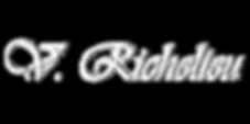 V. Richelieu Lettering White (Vermont Vi