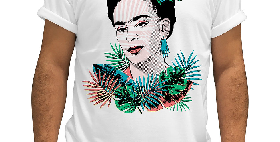 PLAYERA/BLUSA FRIDA TROPICAL - KALKAS