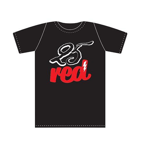 25 RED CUSTOM T SHIRT