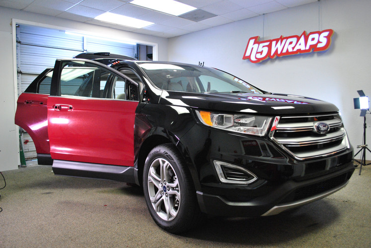 Ford Edge color change wrap.JPG