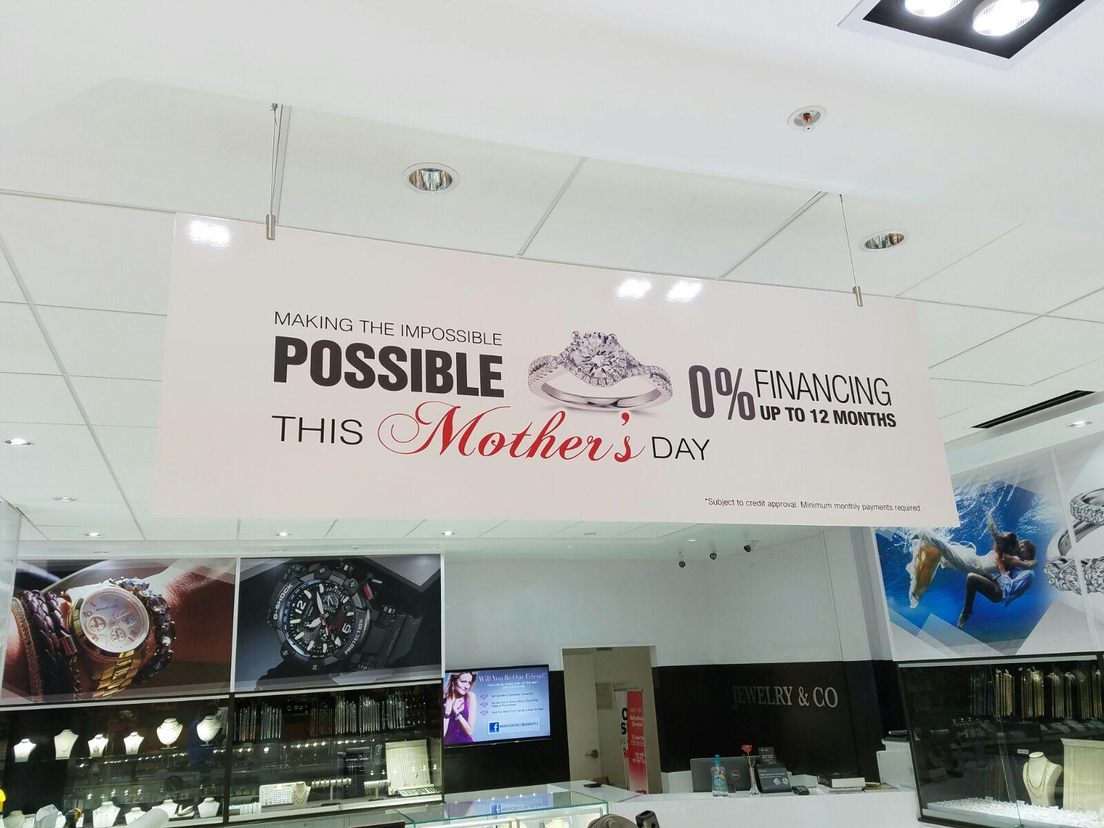 H5 graphics interior signage