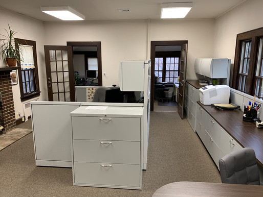 Office Renovations at WildAcres