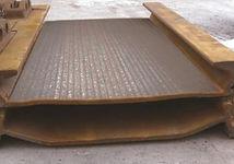 наплавленные плиты ВАЛДЕМ - ИГМК