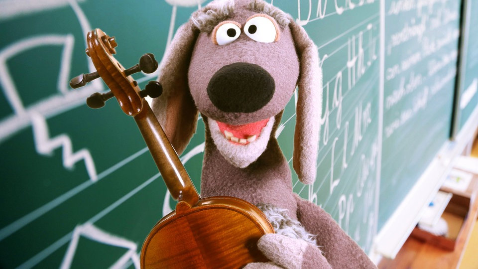 Dackl entdeckt die Musik