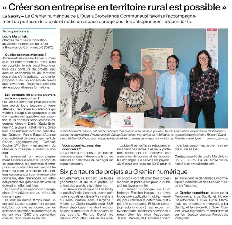 Journal Agir Solutions en Bretagne