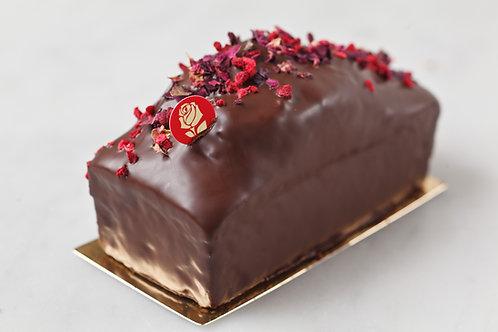 ケーク パッション ドゥ ローズ / フランボワーズとバラのパウンドケーキ