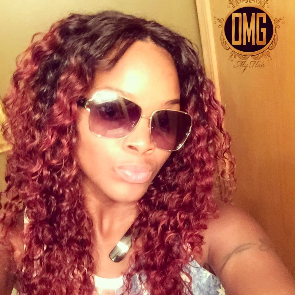 Custom Color Sew-in at OMG