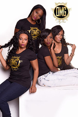 OMG Hair Studios First Photo Shoot