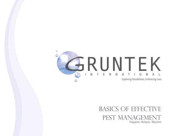 Gruntek Conducts General Pest Control Training for Burmese Professional Pest Control Company