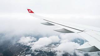 Approaching GRZ!_-_#flyswiss #bombardier