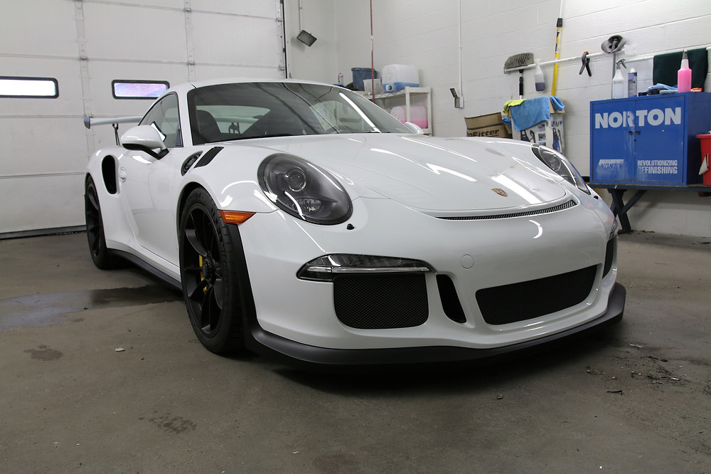 GT3 RS came in to get Xpel's Paint Protection film wrapped on his car. Here you will see the some of the steps we take here at Auto Graphics to insure that this car wont get beat up by road rash.
