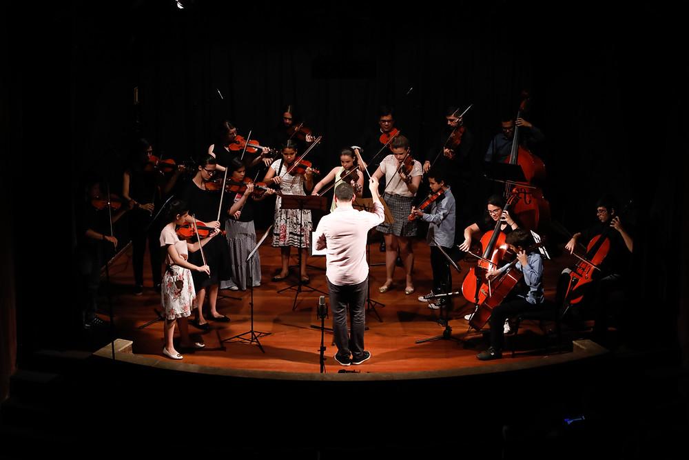 Orquestras Bravi em concerto no SESI Cultural/AML Londrina