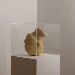 Head -2012- couscous et epoxy- Mehdi-Georges Lahlou