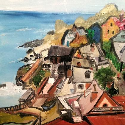 Malta seaside 10 x 10