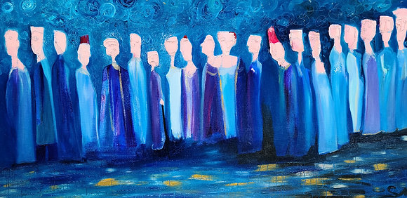 Curtain Call 24 x 48