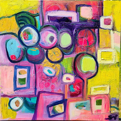 Who moved the cheese? 16 x 16