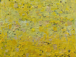 Painting abstract in yellow