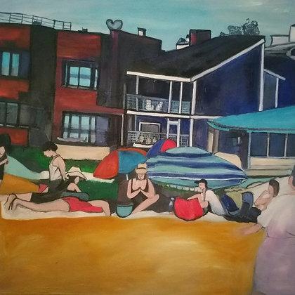 Manhattan Beach 46 x 46