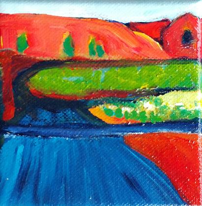 Desert Roadway - 4 x 4