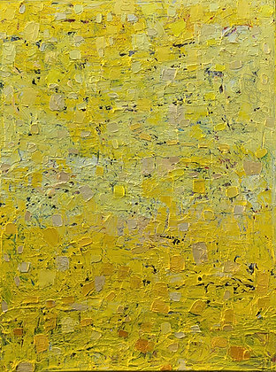 Naturally abstract yellow 30 x 40