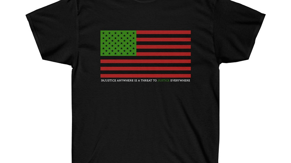 Injustice Anywhere | Pan African Flag | Tee