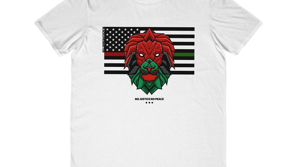 Kubwa NO JUSTICE NO PEACE | Activist Tee | Lightweight Fashion Tee