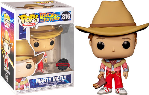 Back to the Future - Marty McFly Cowboy US Exclusive Pop! Vinyl