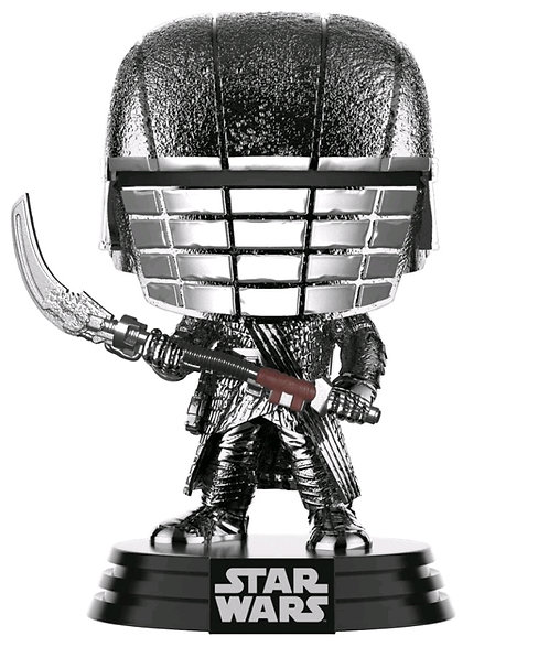 Star Wars - Knight of Ren Scythe Episode IC Rise of Skywalker Hematire Chrome Po