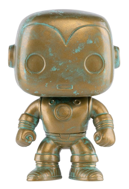 Iron Man - Marvel 80th Anniversary Patina US Exclusive Pop! Vinyl