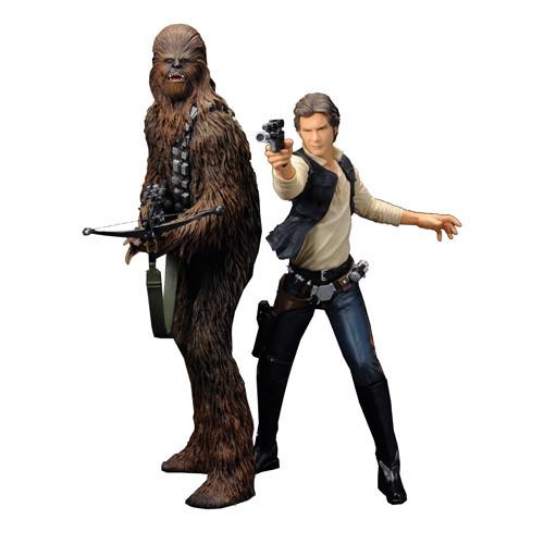 Han And Chewie ArtFX Statue1.jpg