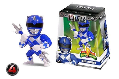 "Mighty Morphin Power Rangers - Blue Ranger 4"" Metals"