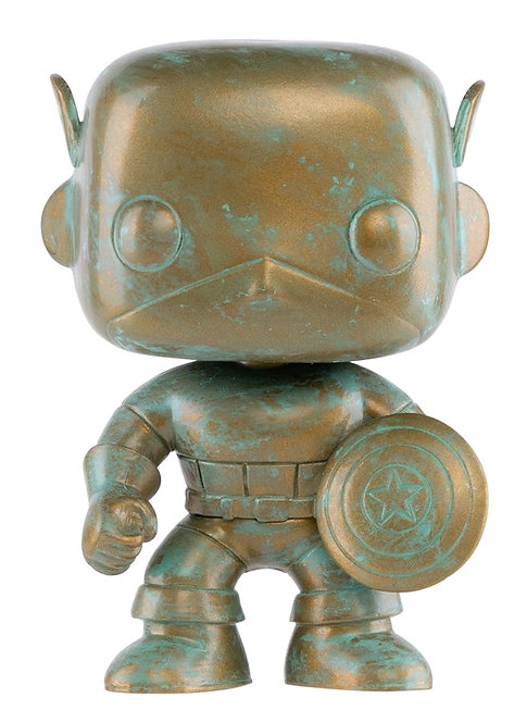 Captain America - Marvel 80th Anniversary Patina US Exclusive Pop! Vinyl