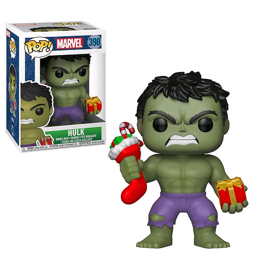 Hulk - Hulk with Stocking Pop! Vinyl