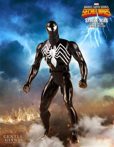 Spider-Man Black Version Marvel Secret Wars Jumbo