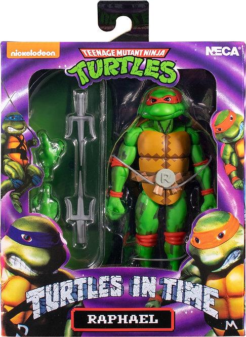 """Teenage Mutant Ninja Turtles In Time - Raphael 7"""" Action Figure"""