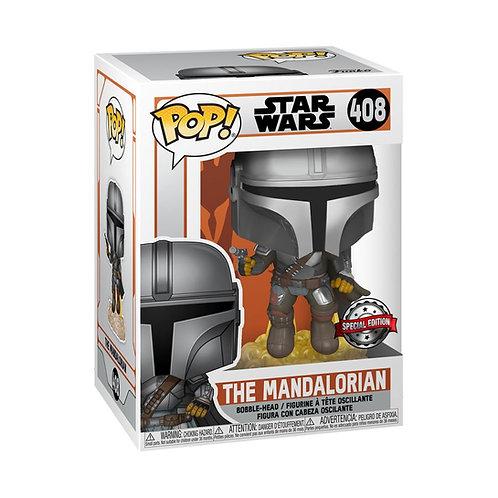 Star Wars: The Mandalorian - Mandalorian Flying US Exclusive Pop! Vinyl