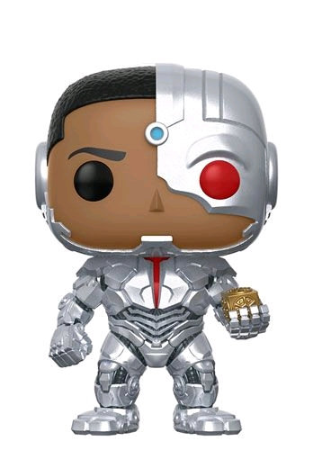 Justice League Movie - Cyborg and Mother Box US Exclusive Pop! Vinyl