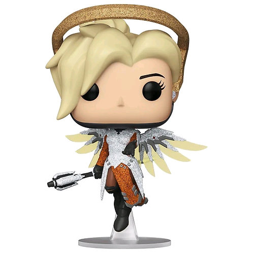 Overwatch - Mercy Blizzard 30th Anniversary Diamond Glitter US Exclusive Pop! Vi