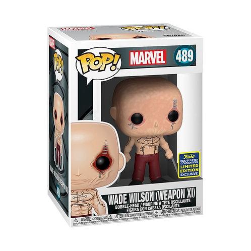 Marvel - Wade Wilson (Weapon XI) SDCC 2020 Exclusive POP!